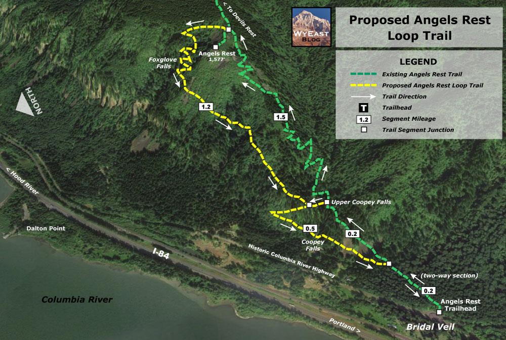 Hiking Trails In Oregon - Oregon hiking trails map